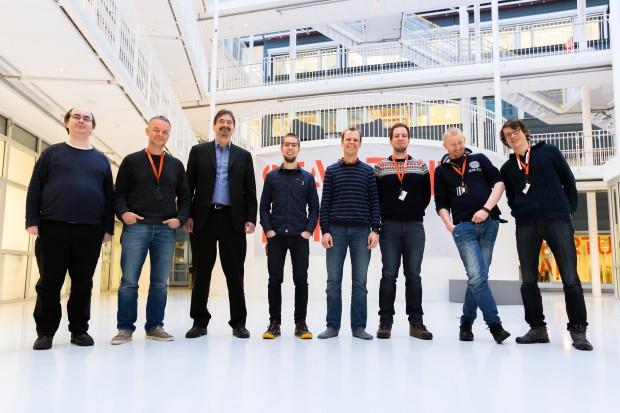Ein Teil des Vivaldi-Teams (Bild: Vivaldi)