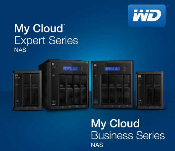 Neue My-Cloud-NAS' (Bild: Western Digital)