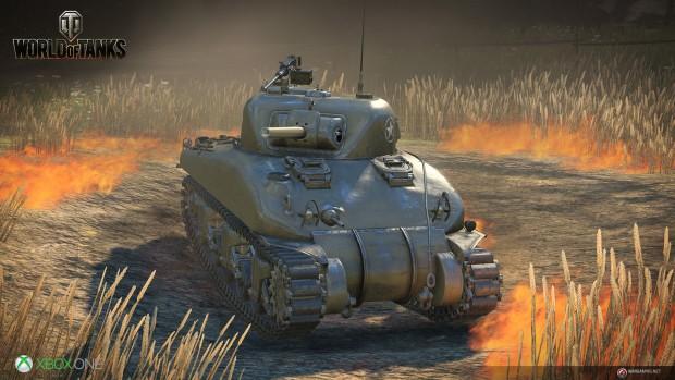World of Tanks für die Xbox One (Bild: Wargaming)