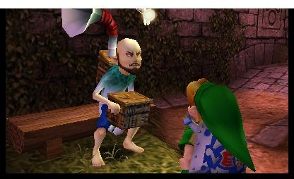 The Legend of Zelda: Majora's Mask 3D (Screenshots: Golem.de)