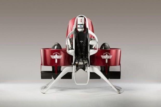Das Martin Jetpack wurde vom neuseeländischen Unternehmen Martin Aircraft Company entwickelt. (Foto: Martin Aircraft Company)
