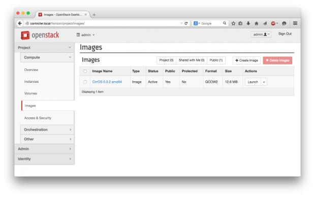 Images sind wichtig, denn sie erlauben es Kunden, schnell neue VMs aufzusetzen. (Screenshots: Martin Loschwitz)