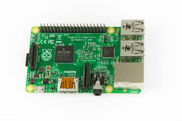 Raspberry Pi 2 (Foto: Martin Wolf/Golem.de)