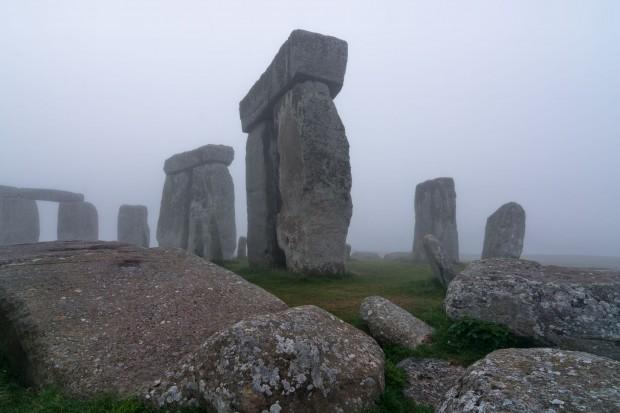 Das Monument Stonehenge in Südengland: Funde von der Steinzeit bis zum Stonehenge Free Festival (Foto: LBI Arch Pro)