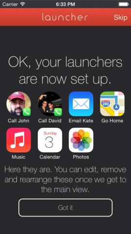 App Launcher (Bild: Greg Gardner)