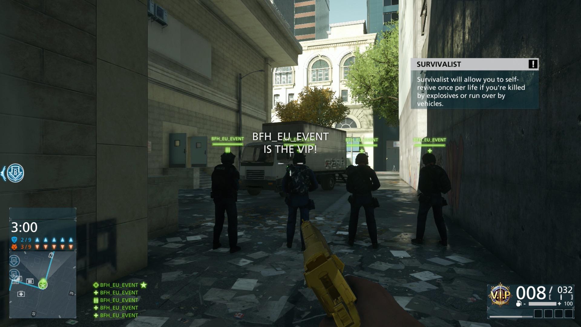 Battlefield Hardline im Test: Guter Shooter mit Charakterschwäche - Wir treten als VIP an.