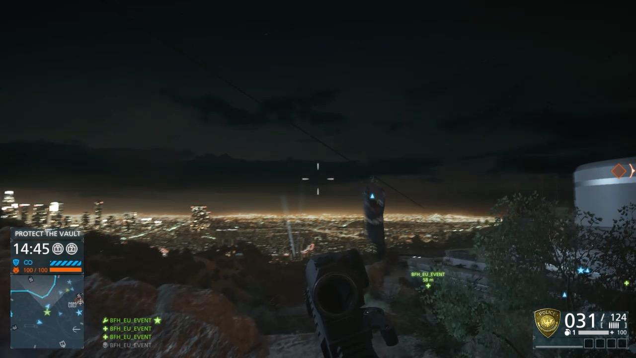 Battlefield Hardline im Test: Guter Shooter mit Charakterschwäche - Battlefield Hardline bietet am Horizont nette Aussichten.
