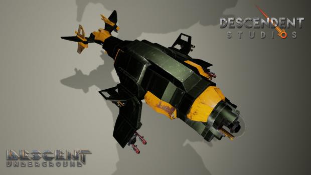 Die acht Schiffstypen haben besondere Stärken wie Aufklärung, Transport oder Verteidigung. Die eigenen Vehikel lassen sich auch individuell upgraden und tunen. (Bild: Descendent Studios)
