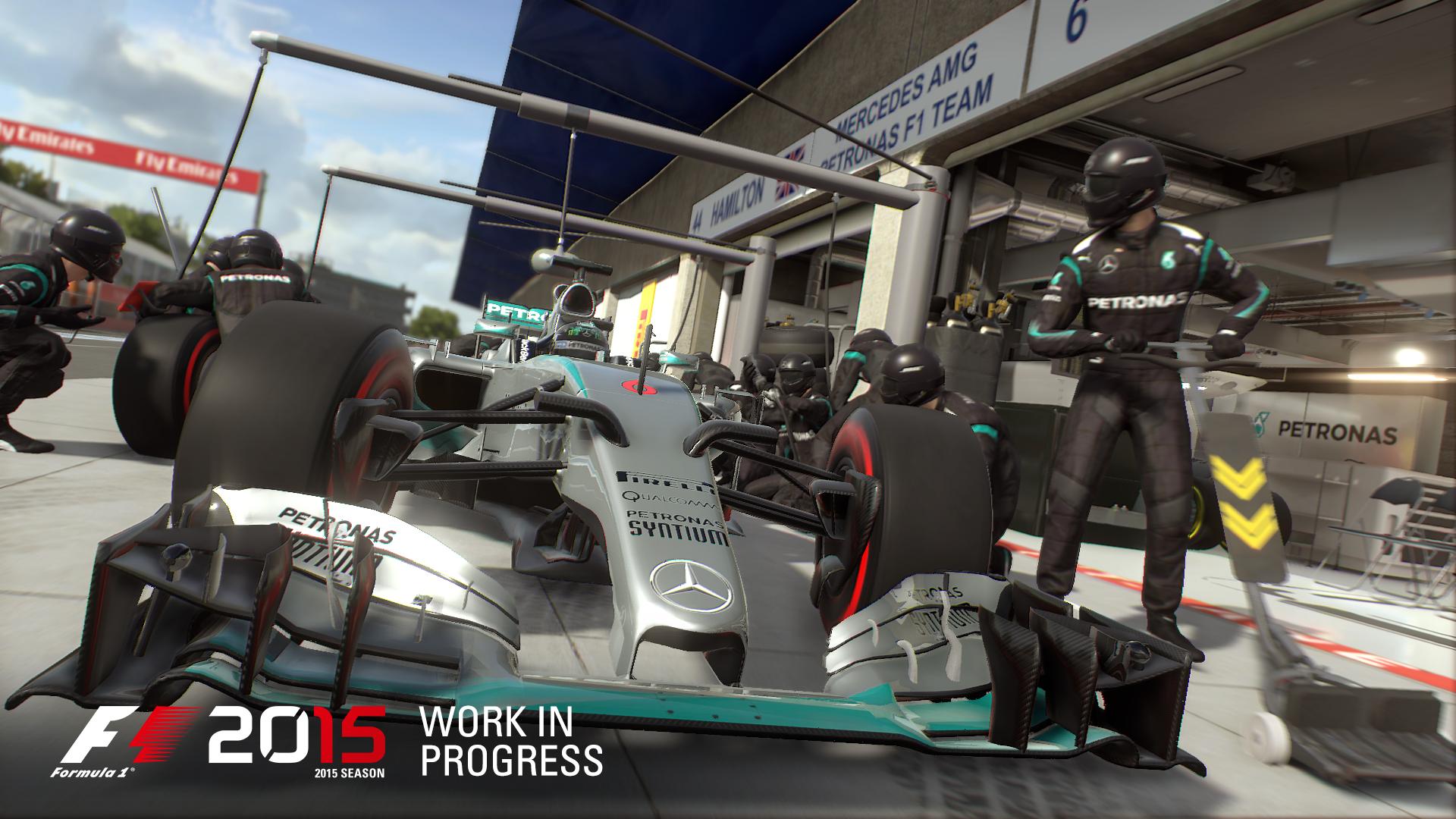 Codemasters: F1 2015 fährt auf neuen Pneus - F1 2015 (Bild: Codemasters)