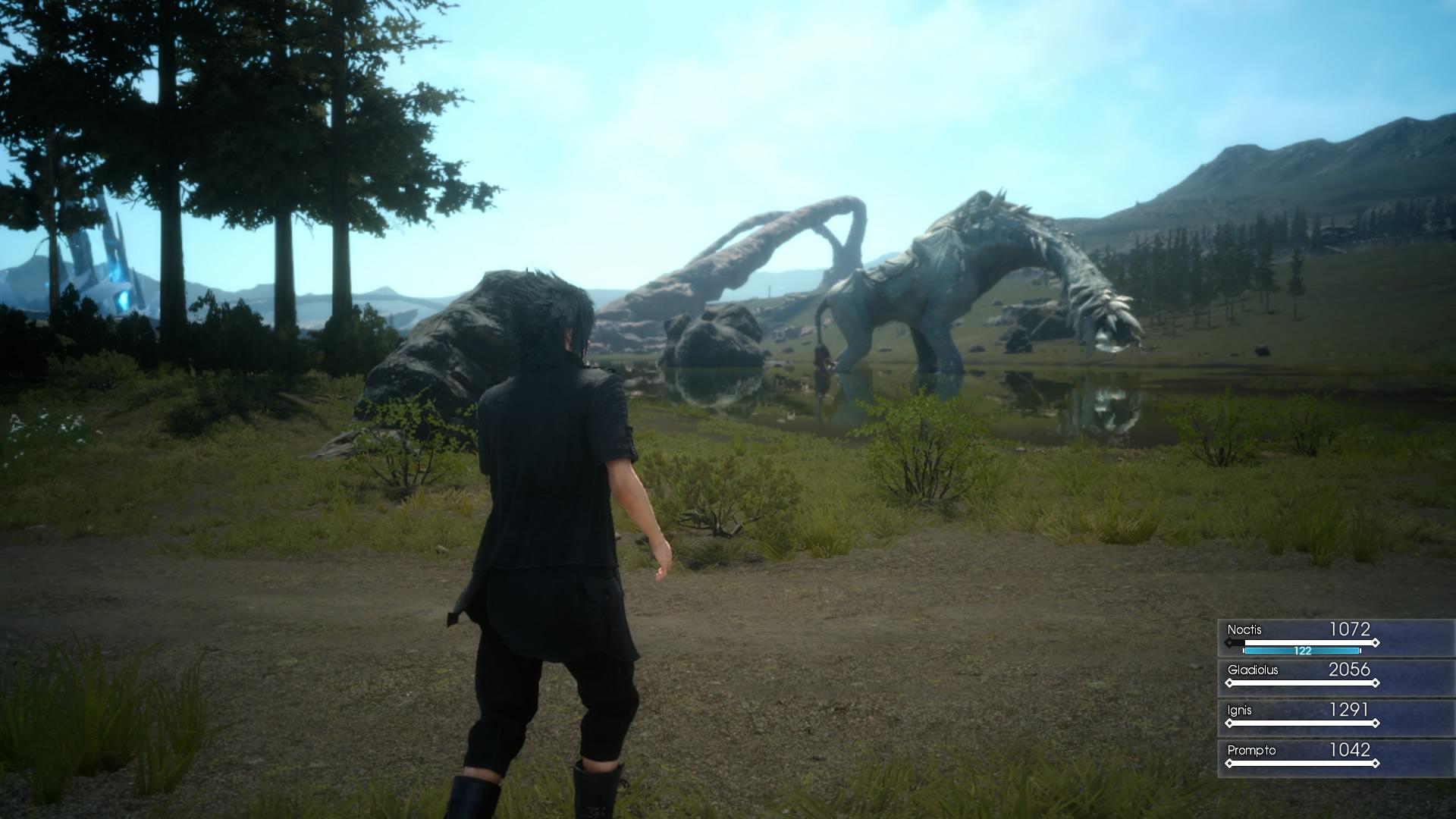 Episode Duscae angespielt: Final Fantasy ist endlich wieder zeitgemäß - Screenshot aus Final Fantasy 15 - Episode Duscae (Bild: Golem.de)