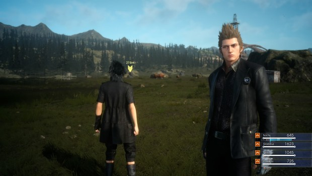 Screenshot aus Final Fantasy 15 - Episode Duscae (Bild: Golem.de)