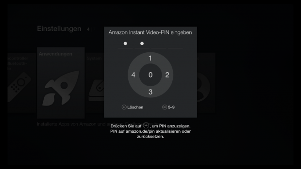 fire tv stick fernbedienung firmware update