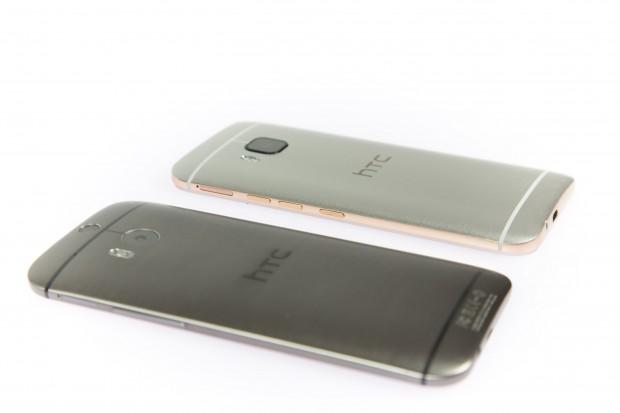 Die Rückseiten der Modelle One (M9) und One (M8) ähneln sich. (Bild: Martin Wolf/Golem.de)