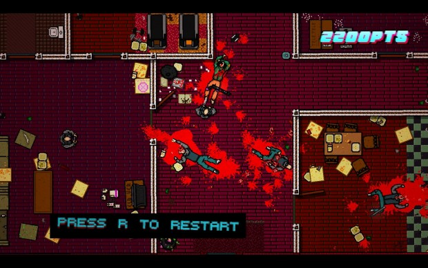 Hotline Miami 2: Wrong Number (Screenshots: Golem.de)