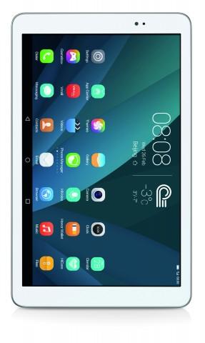 Das Mediapad T1 10.1 von Huawei. Von der 7-Zoll-Version hat der Hersteller leider noch kein Bild zur Verfügung gestellt. (Bild: Huawei)