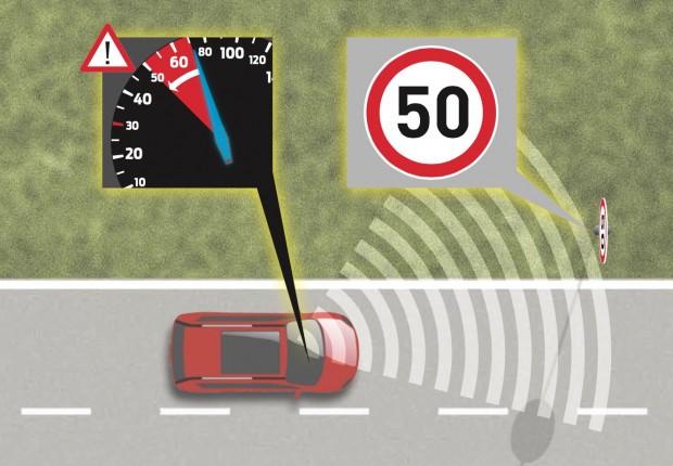 Ford S-Max Intelligent Speed Limiter (Bild: Ford)