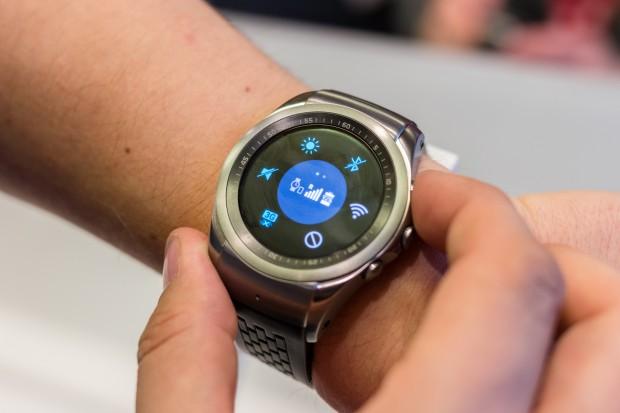 Die Watch Urbane LTE von LG (Bild: Michael Wieczorek/Golem.de)