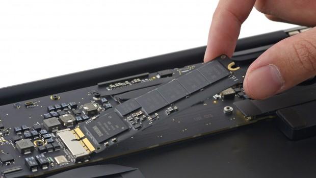 Samsungs SM951 (Bild: iFixit)