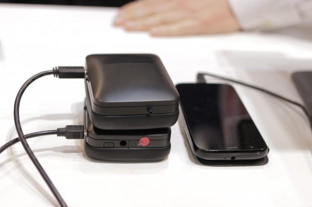 NXPs NFMI-Kopfhörer als Prototyp (Bild: Michael Wieczorek/Golem.de)