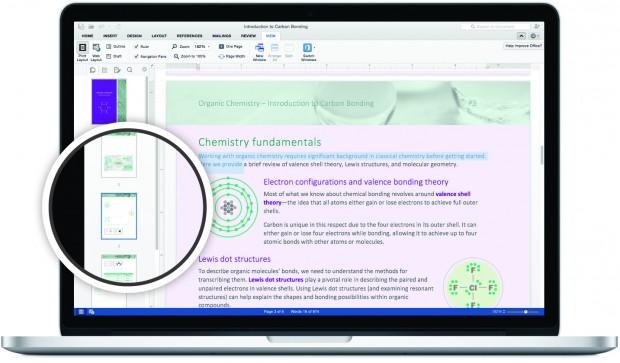 Word aus Office 2016 für den Mac (Bild: Microsoft)