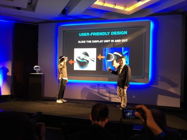 Das Display des Prototypen lässt sich nach vorne schieben. (Foto: Golem.de)