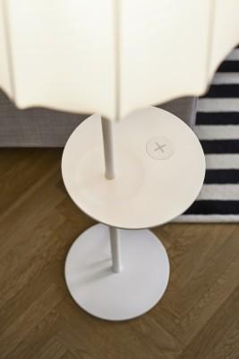 Ikea-Möbel unterstützen Wireless Charging. (Bild: Ikea)