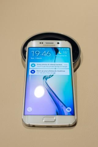Das Galaxy S6 Edge von Samsung (Bild: Golem.de)