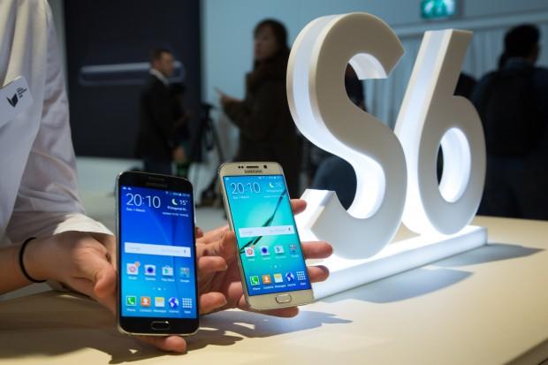 Das Galaxy S6 und S6 Edge von Samsung (Bild: Golem.de)