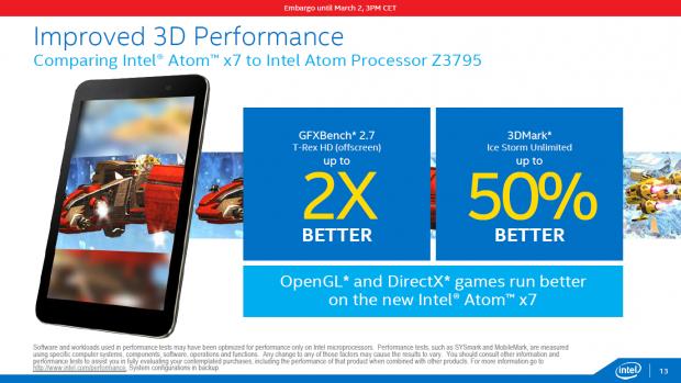 Der Atom x7 soll den Z3795 deutlich schlagen. (Bild: Intel)