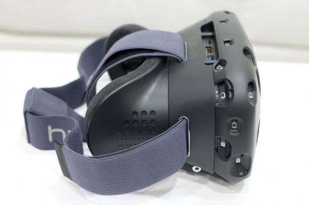 Das HTC Vive ist mit Fotowiderständen versehen. (Foto: Golem.de)