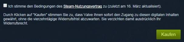 Dieser Klausel muss der Nutzer beim Bezahlungsvorgang zustimmen. (Screenshot: Golem.de)
