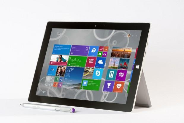 Das neue Surface 3 von Microsoft kommt - anders als seine Vorgänger - mit Windows 8.1 statt mit Windows RT. (Bild: Microsoft)