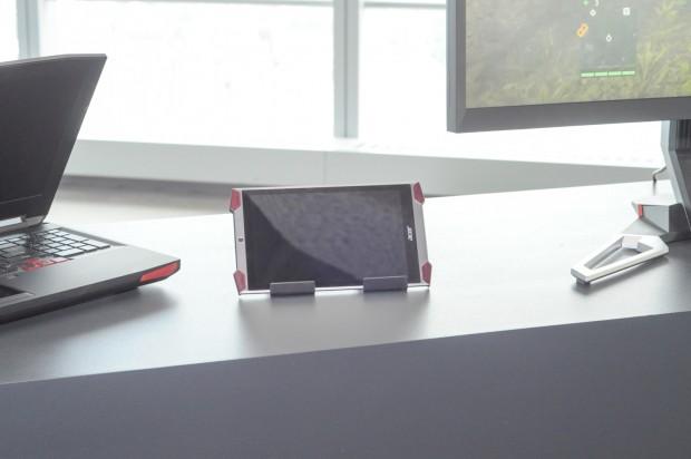 Das Predator-Tablet... (Foto: Andreas Sebayang/golem.de)