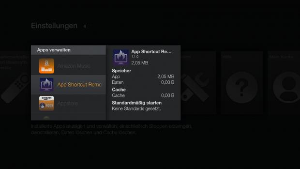Liste der installierten Apps (Screenshot: Golem.de)