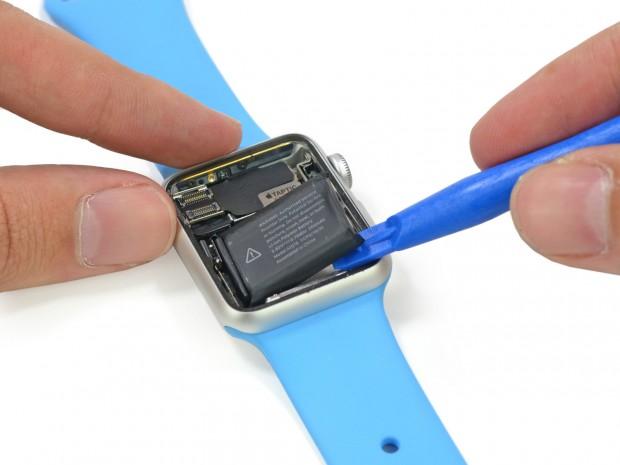 Akku der Apple Watch (Bild: iFixit)