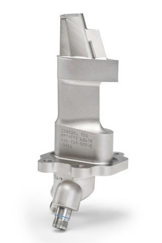 Gehäuse des T25-Sensors für eine Flugzeugturbine (Bild: GE)