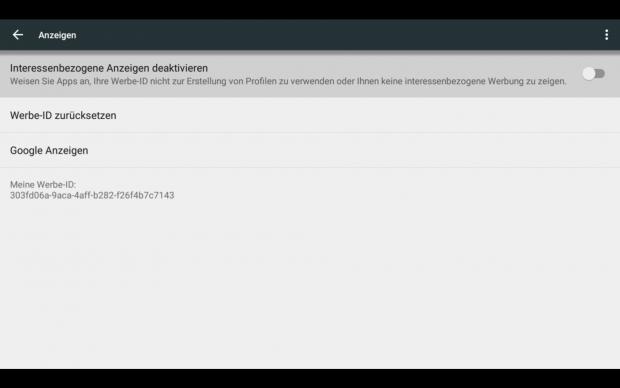 In den Einstellungen haben wir eine nicht an Android TV angepasste Oberfläche gefunden. (Screenshot: Golem.de)