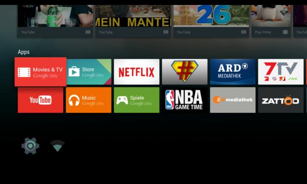 Ab der 16. App wird die App-Liste auf dem Hauptbildschirm in zwei Reihen aufgeteilt. (Screenshot: Golem.de)