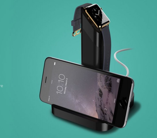 Griffin Charging Dock for Apple Watch & iPhone (Bild: Griffin)