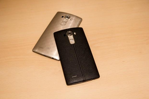 LG hat sein neues Top-Smartphone G4 vorgestellt. (Bild: Tobias Költzsch/Golem.de)