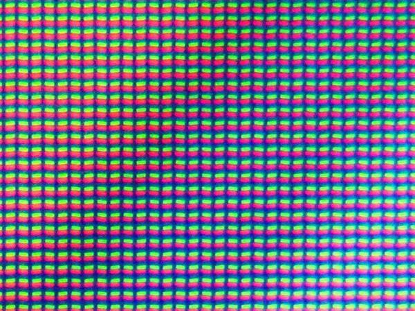 Nahaufnahme des Sharp-Displays mit RGB-Matrix und 3.200 x 1.800 Pixeln (Bild: Martin Wolf/Golem.de)