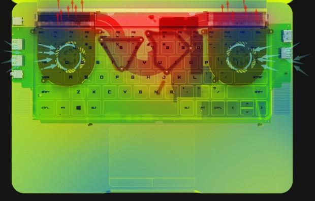 Schaubild zur Kühlung (Bild: Razer)