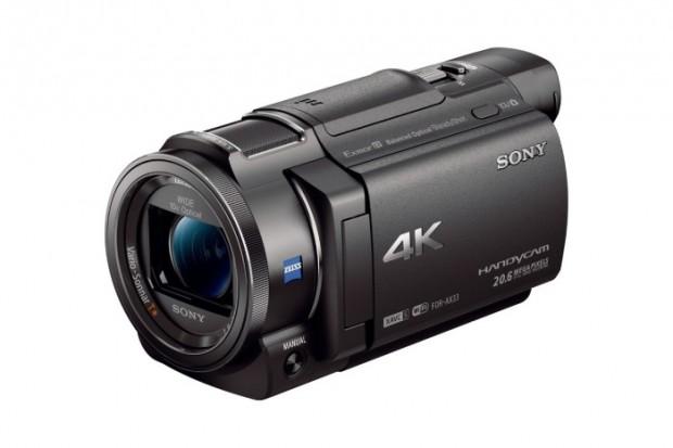 Sony FDR-AX33 (Bild: Sony)