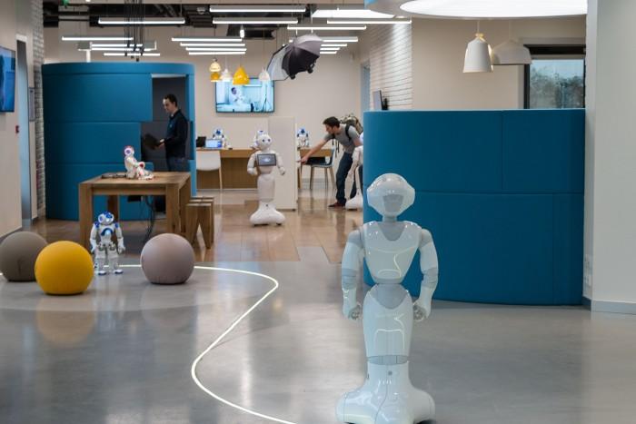 Das Roboter-Atelier in Aldebaran in Paris (Foto: Werner Pluta/Golem.de)