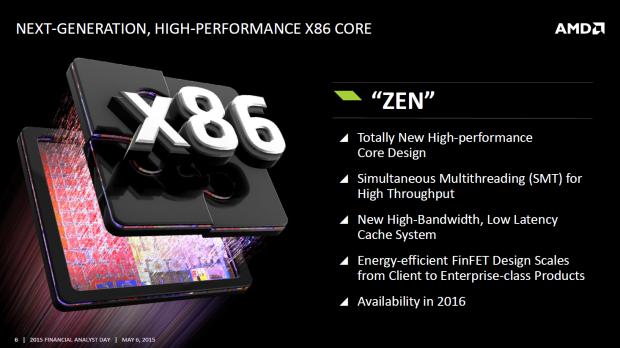 Überblick zur Zen-Architektur (Bild: AMD)