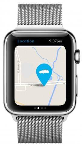 Volkswagen-App für die Apple Watch (Bild: Volkswagen)