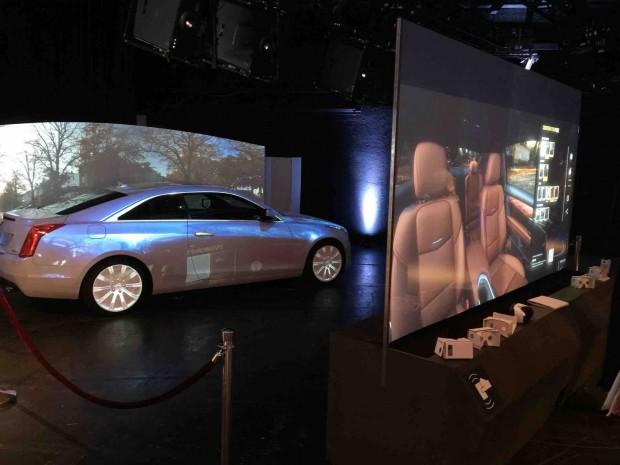 Virtuelles Schaufenster von Dassault (Foto: Peter Steinlechner/Golem.de)