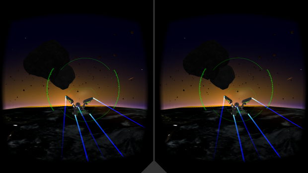 Das Spiel Vanguard V (Screenshot: Golem.de)