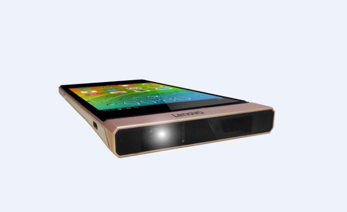 Smart Cast: Lenovos Smartphone mit drehbarem Laserprojektor - Lenovos Screen-Cast-Konzept (Bild: Lenovo)