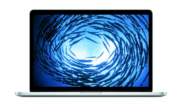 Das neue Macbook Pro mit 15-Zoll-Display (Bild: Apple)